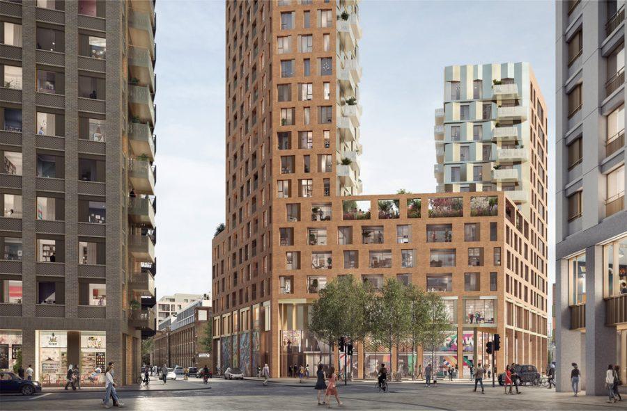 Tottenham Hale redevelopment plan features landscape design by Grant Associates