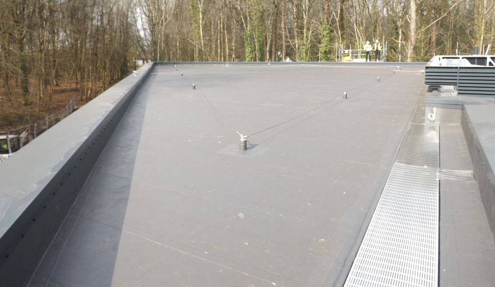 Stratex warm roof system