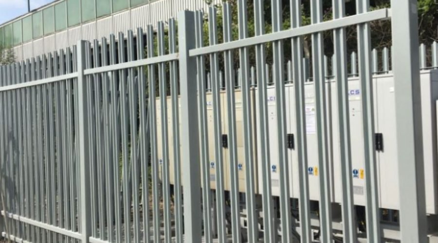 TouchSafe® GRP palisade safety fencing