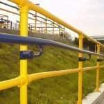 The benefits of colour coated handrails