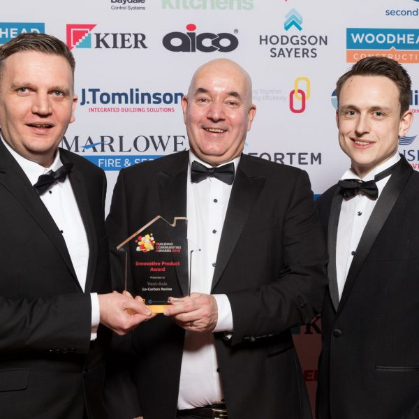 Vent-Axia's Lo-Carbon Revive Wins at Building Communities Awards 2019