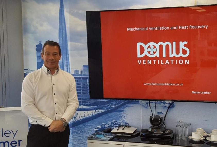 Learning To Breathe… New Domus Ventilation CPD Course for New Build Sector