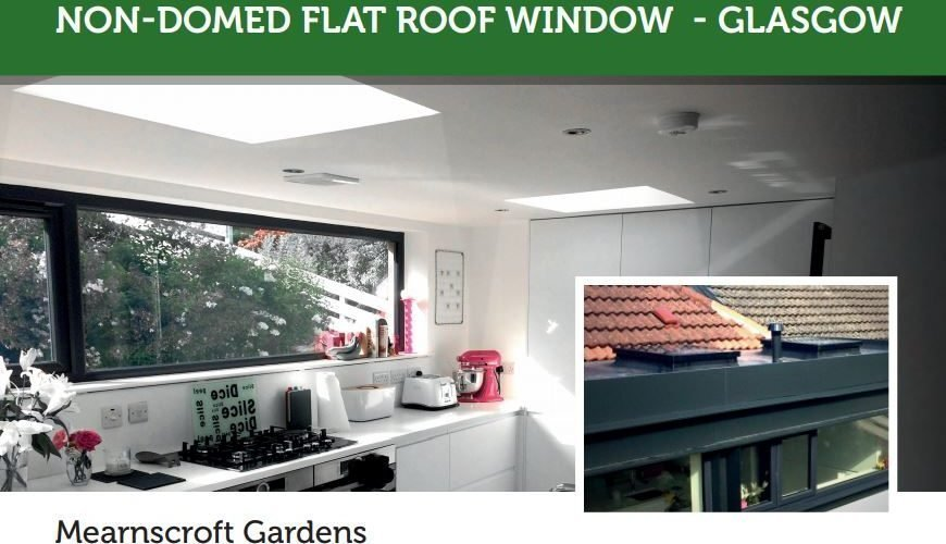 Dine With Natural Light Fakro Dmf And Dxf Flat Roof Windows