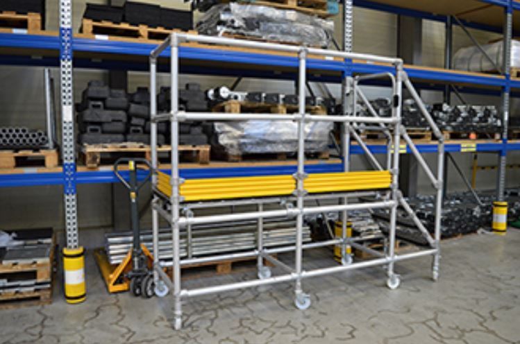 Step-Over Access Platforms