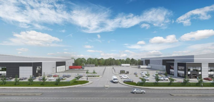 New life breathed into former steelworks site with 48-acre logistics park