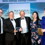 National Ventilation Wins 'Best Energy Saving Product' at the Electrical Wholesaler Awards