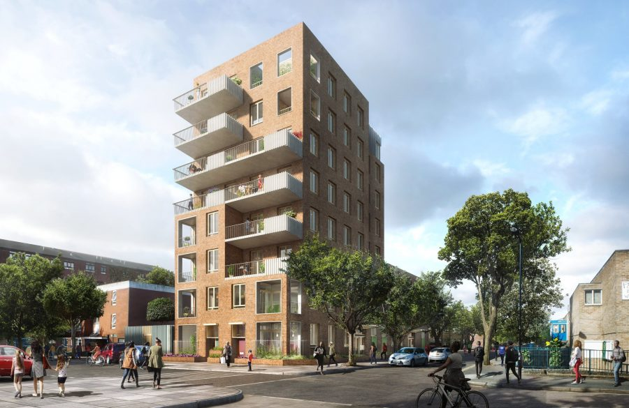 The challenges of renovating an existing boiler house to create a new council housing development in Hackney