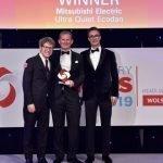 Ultra Quiet Ecodan wins more industry acclaim