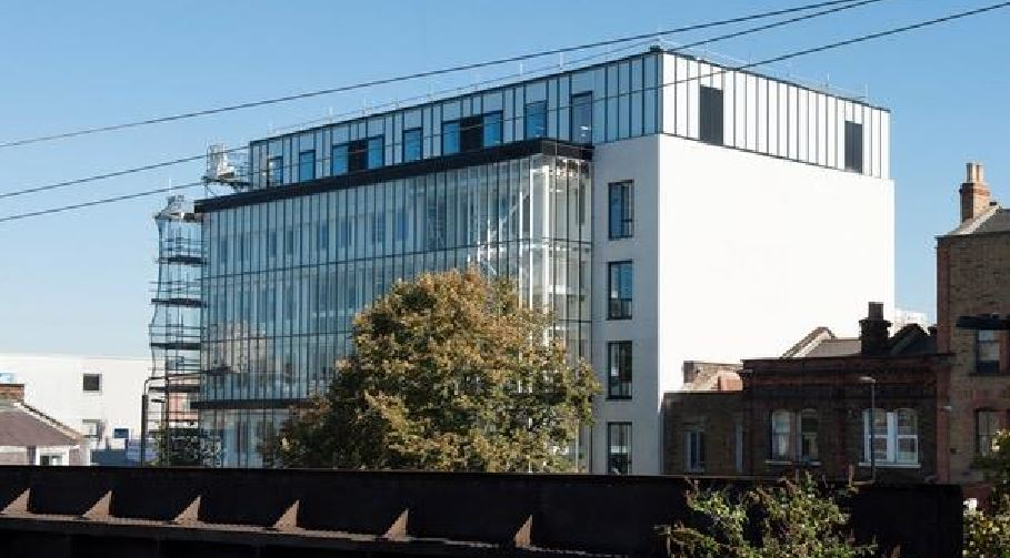 Waugh Thistleton Architects reduces energy consumption of East London office building by half
