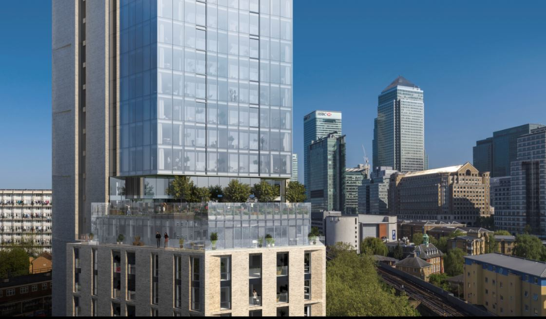 Rockwell Appoint John Sisk & Son to Build 30 Storey Canary Wharf Building 6