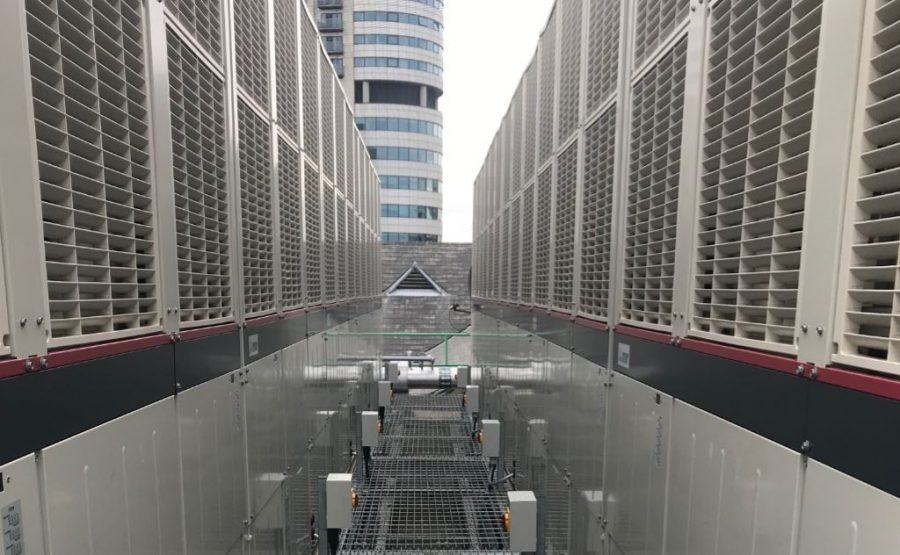 Mitsubishi Electric delivers efficient cooling to ASDA House with e-Series chillers