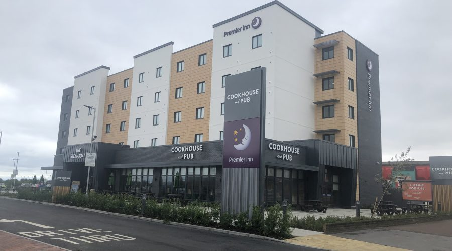 Triton Construction - Premier Inn, Skegness
