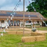 One of Britain's biggest straw-buildings to open for community groups and eco-weddings
