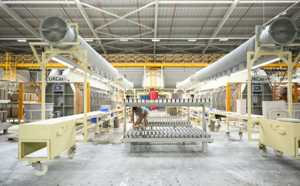 New production capacity for ceramics in Turkey - www.VitrA.co.uk