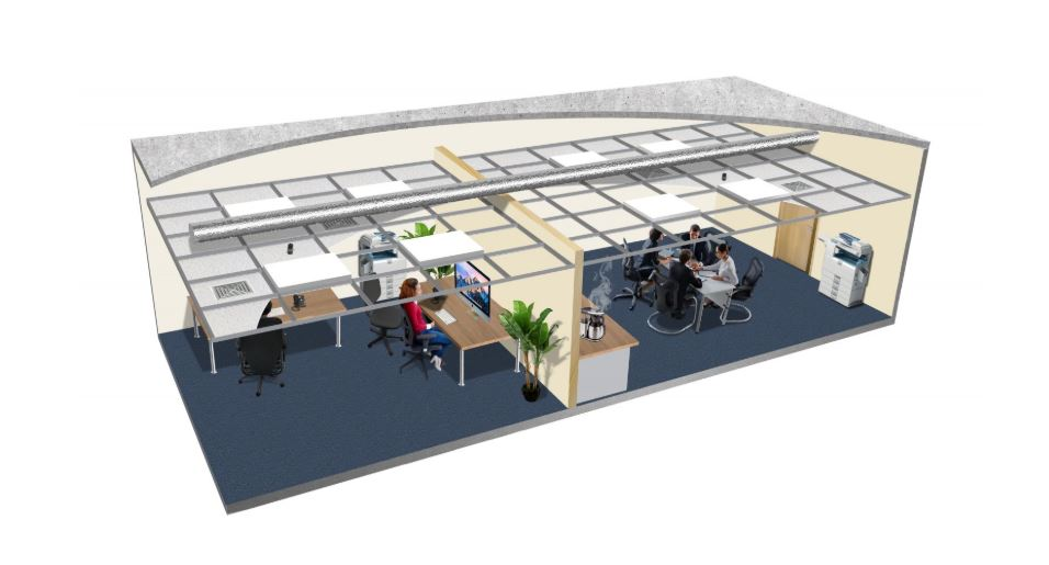 Soundblocker delivers privacy solution for partitioned offices