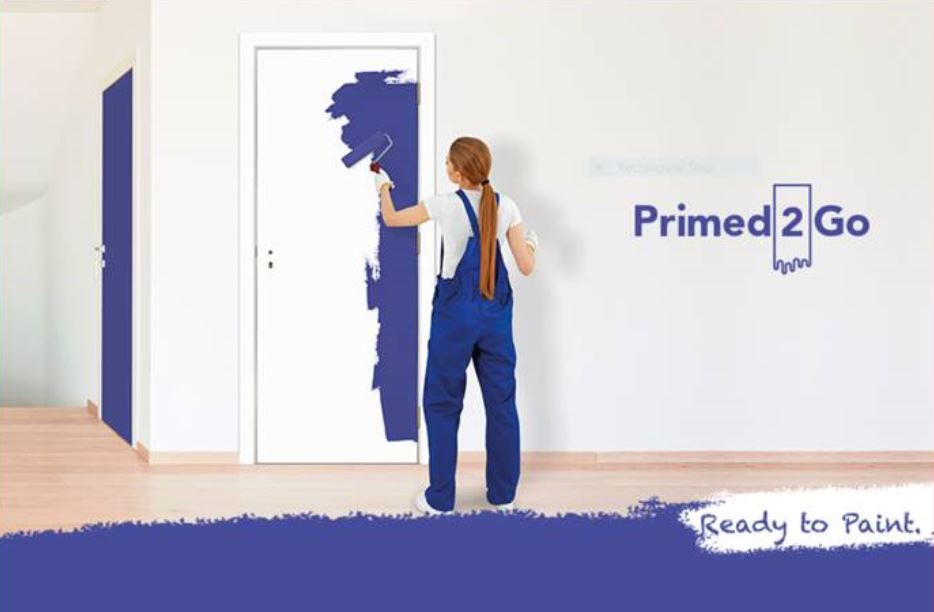 Painting made easy with innovative new interior door