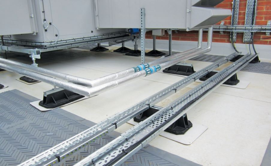 safety on flat roofs