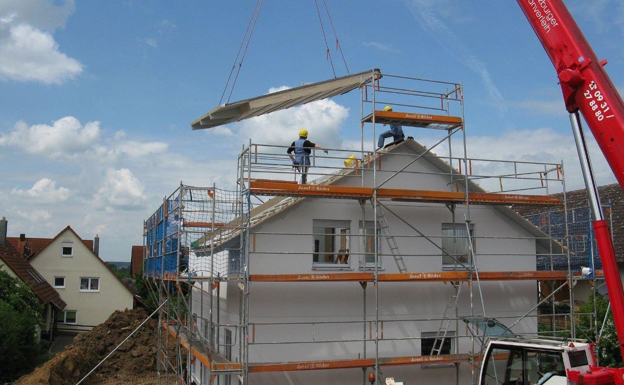 modern building methods - modular construction