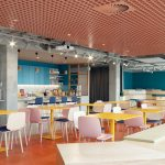 SAS ceiling brings colour and personality to Wix European HQ, Dublin