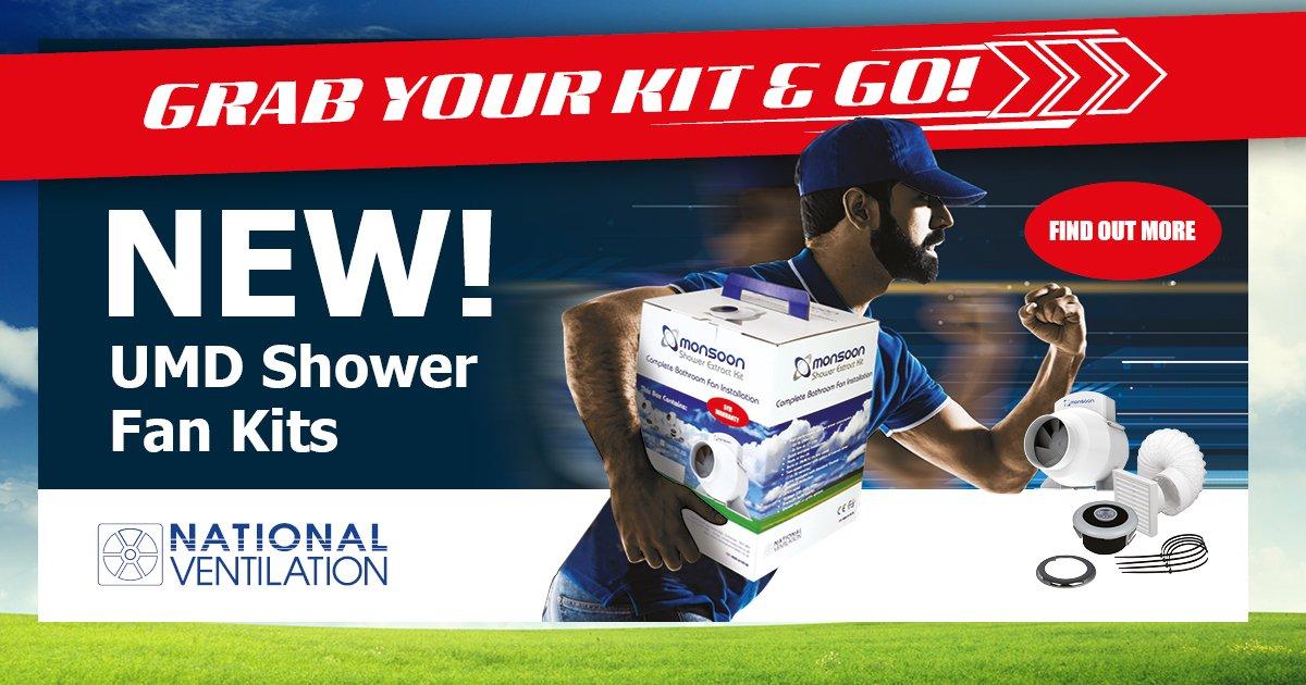 UMD Shower Fan Kits