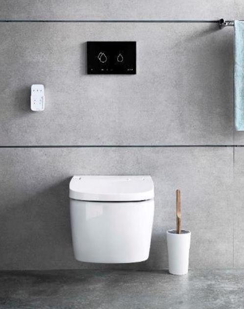 hygienic bathroom design