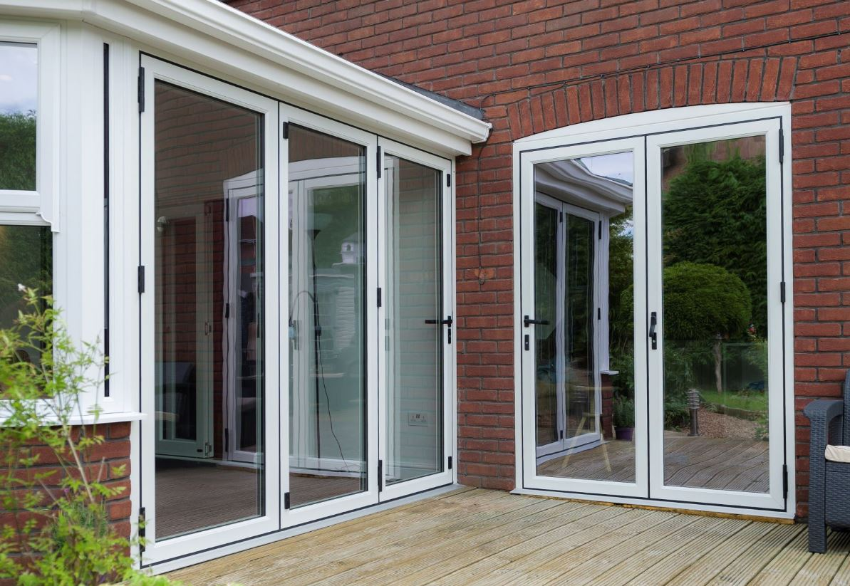 Bi-fold doors can help you maximise space, light and personality