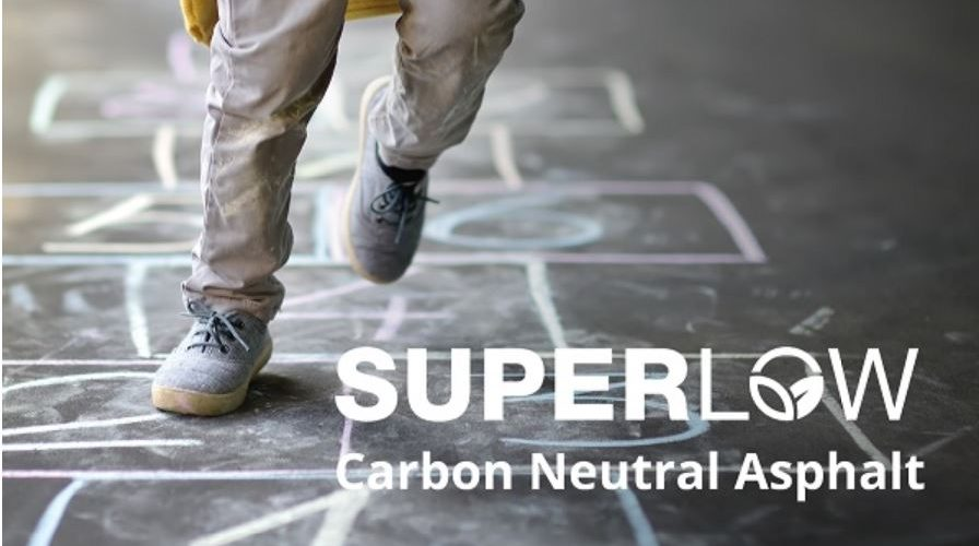 SuperLow - the industry's first carbon neutral asphalt