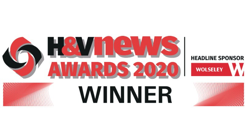Vent-Axia Wins Domestic Ventilation Product of the Year at H&V News Awards