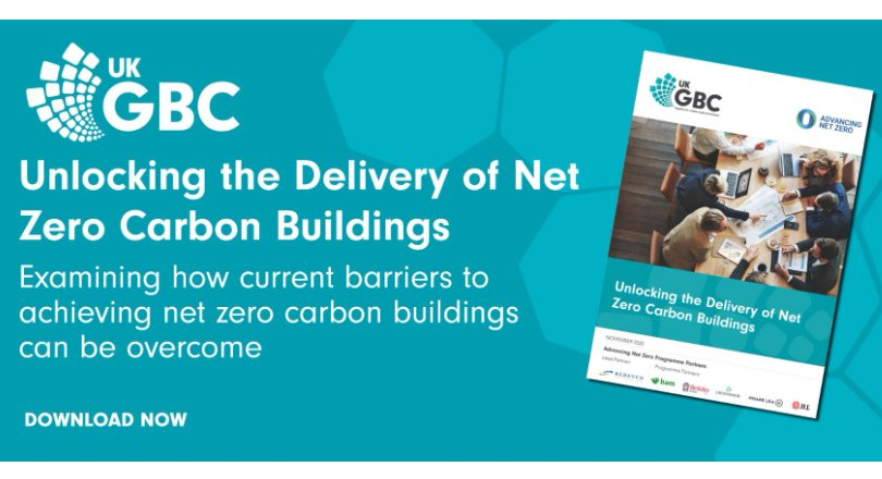 Unlocking the Delivery of Net Zero Carbon Buildings