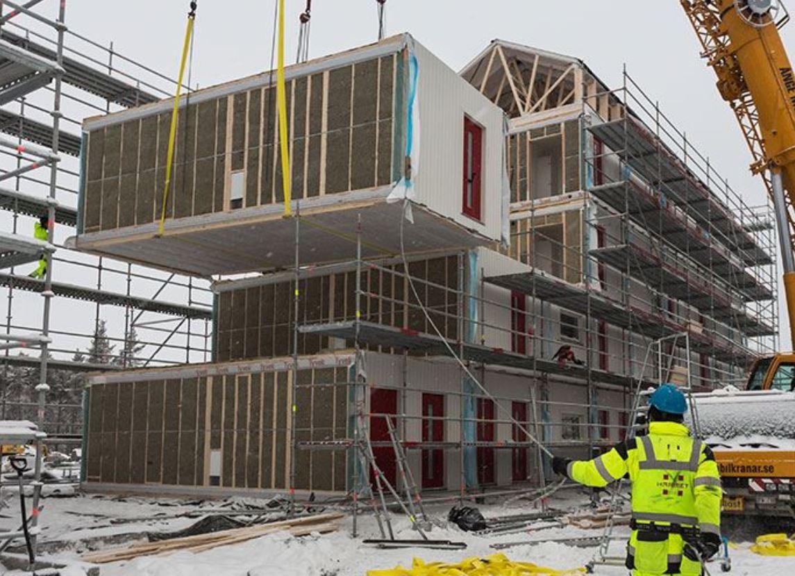 Estonia's Harmet manufactures prefabricated housing modules at speed