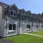 New Carrbridge homes benefit from renewable Ecodan heat pumps