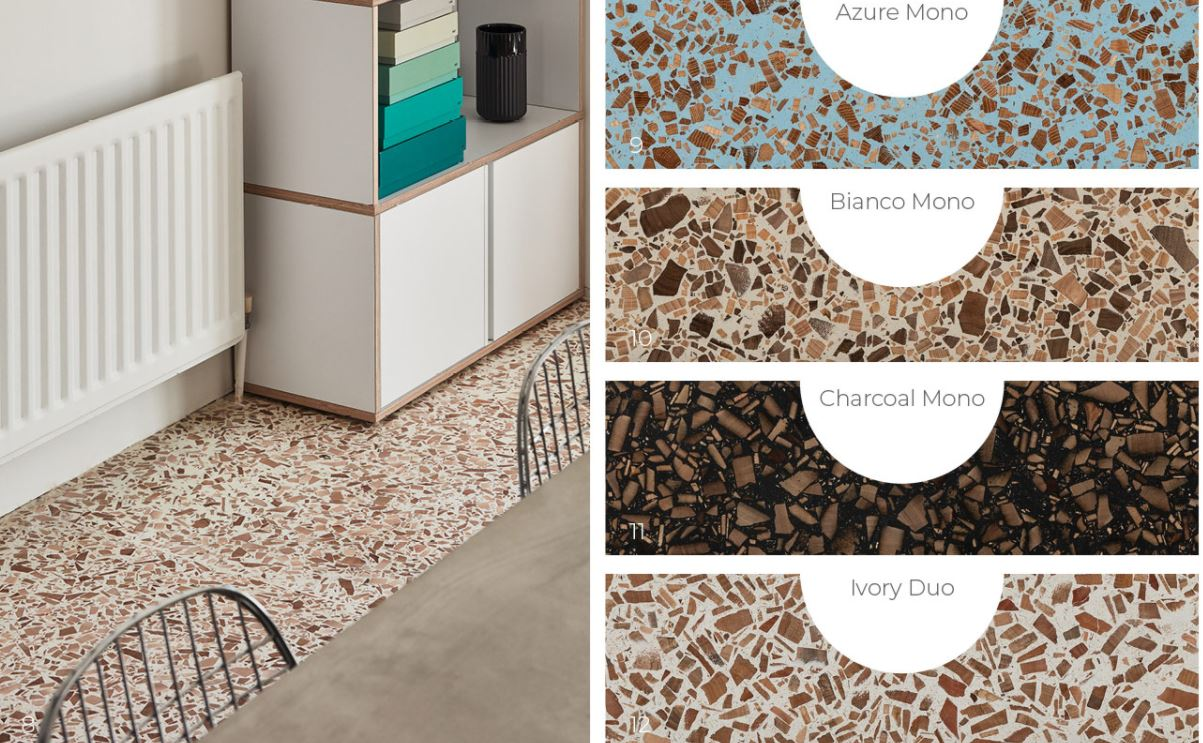Foresso® - The Timber Terrazzo.