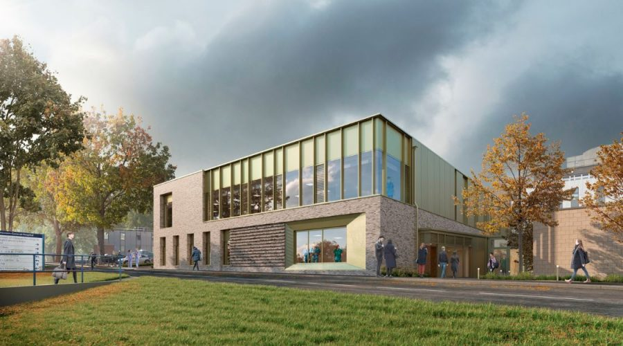 The new linear accelerator (LINAC) treatment facility at NHS Lothian's Western General Hospital