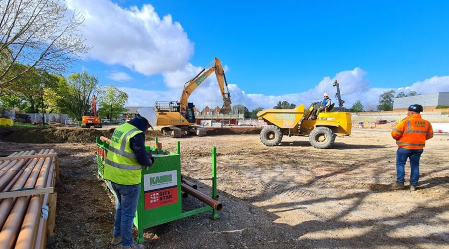 Construction industry up £334m since pre-pandemic causing increase in demand for worker-friendly on-site storage