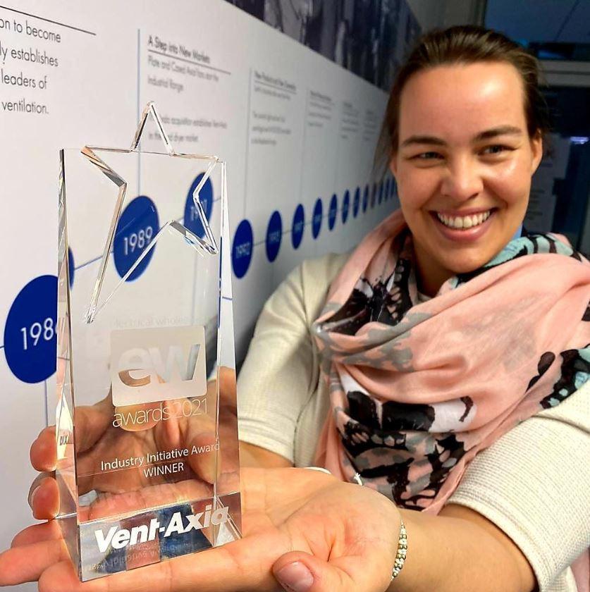 Vent-Axia Wins Prestigious Industry Initiative Award for its 'COVID-19 Support Campaign'