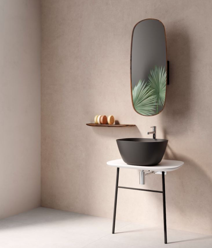 Stunning mid-century colours added to Plural bathroom collection