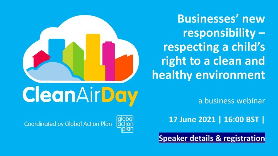 Webinar looks to protect children's health from air pollution