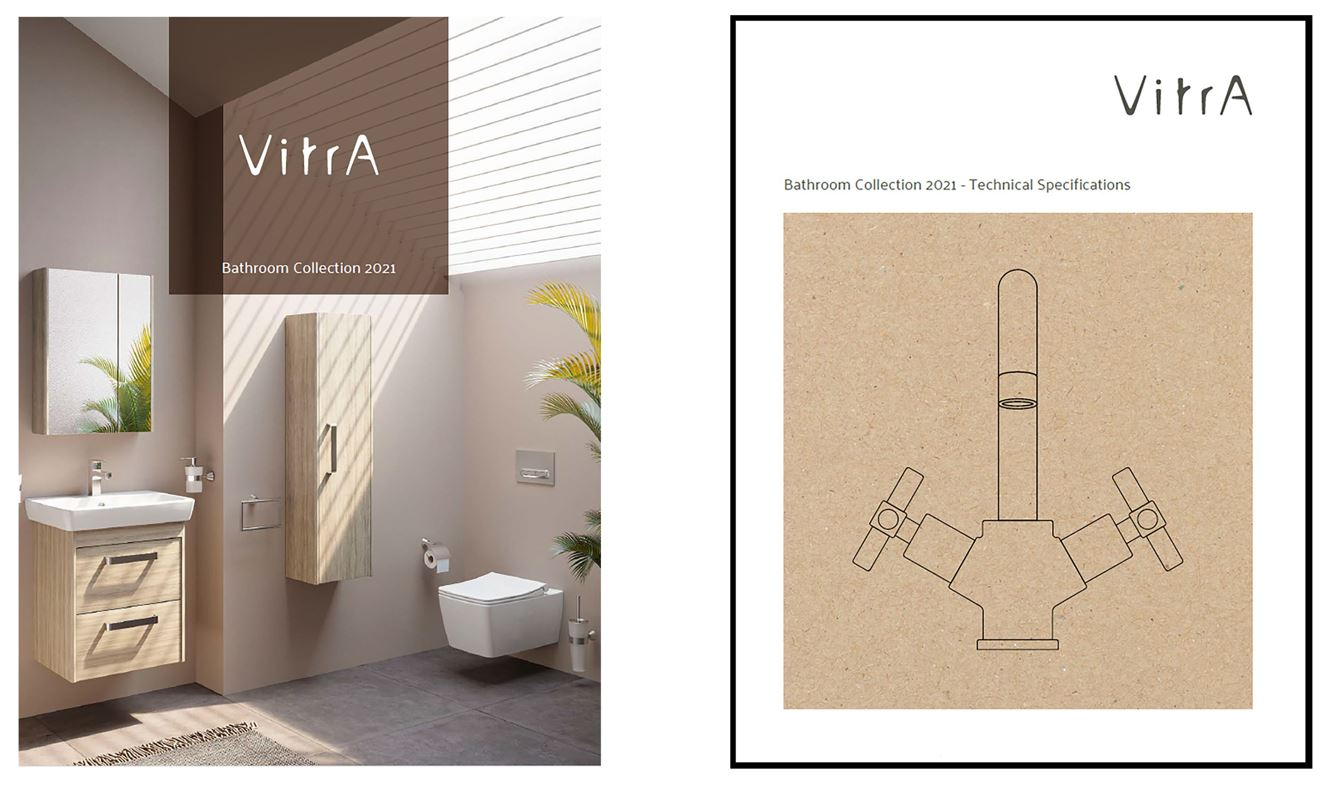 Oxfordshire based VitrA Bathrooms has published a new library of award-winning stylish print brochures.