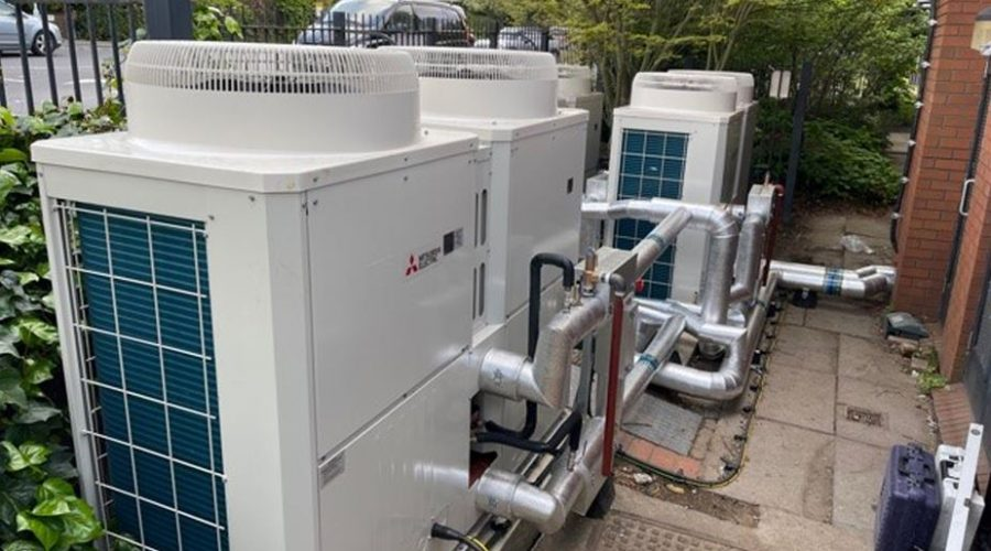 Mitsubishi Electric equips doctor's surgery with renewable heating