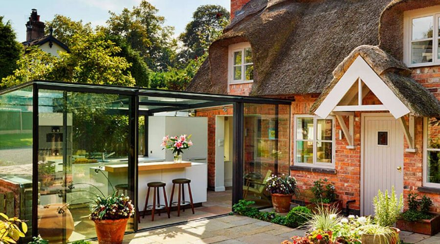 The clear choice for a contemporary vision - Glass box extensions