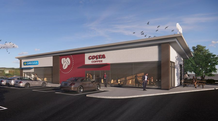 Godwin inks agreements with Greggs & The EV Network for Stoke-on-Trent drive-thru development