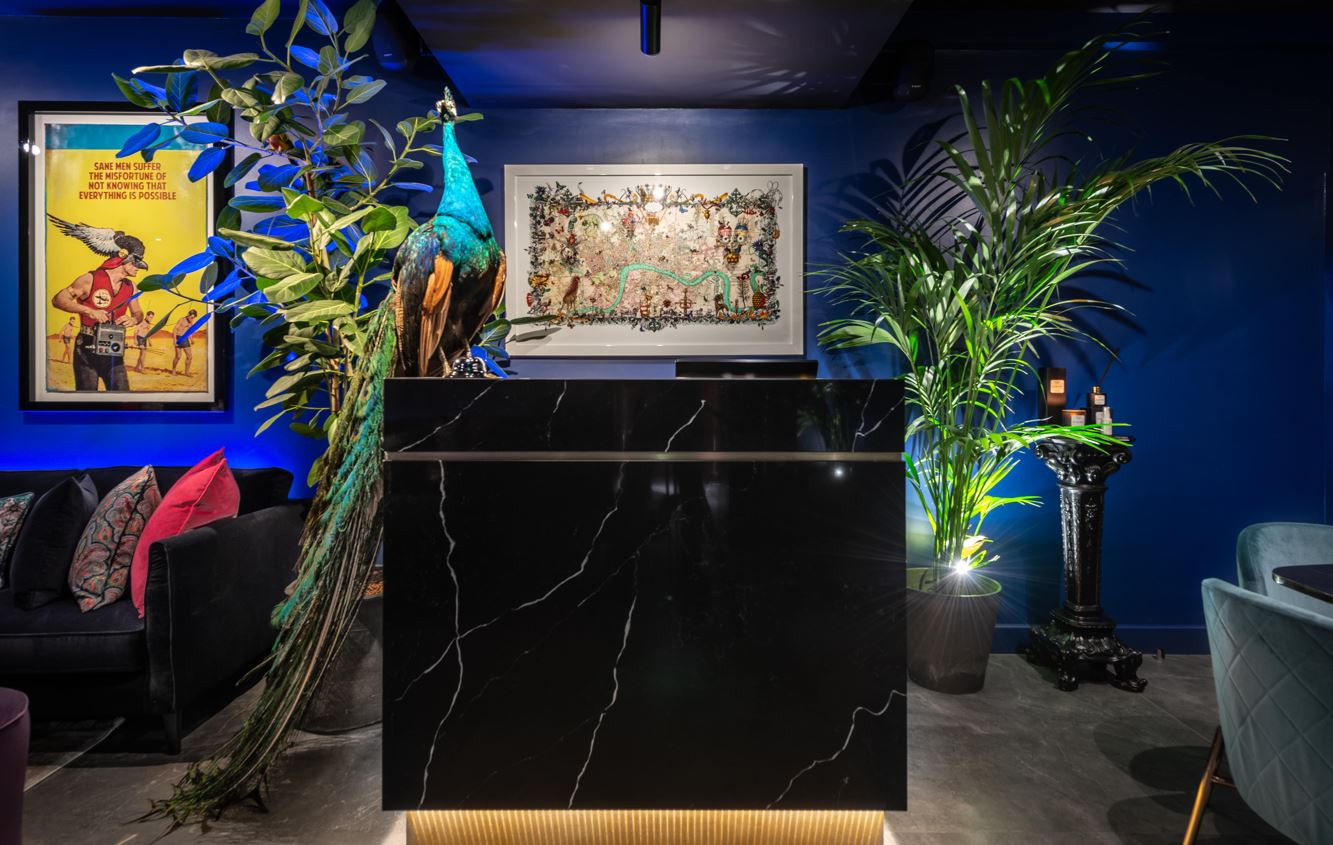 The Hux Hotel Ruffles Kensington's Feathers with Boutique Charm