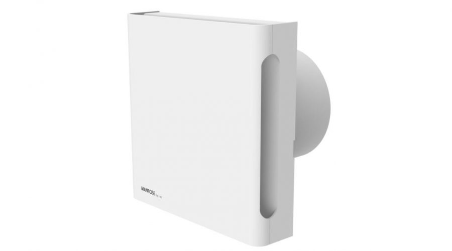 Manrose's New Quiet Fan X5 Provides Ultra-Quiet Reliability and Good Looks