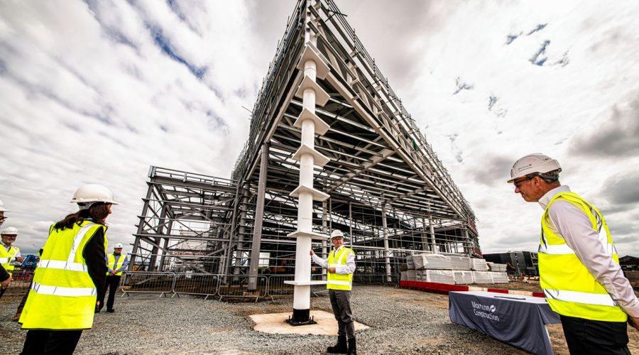 National Manufacturing Institute Scotland (NMIS) HQ reaches major construction milestone