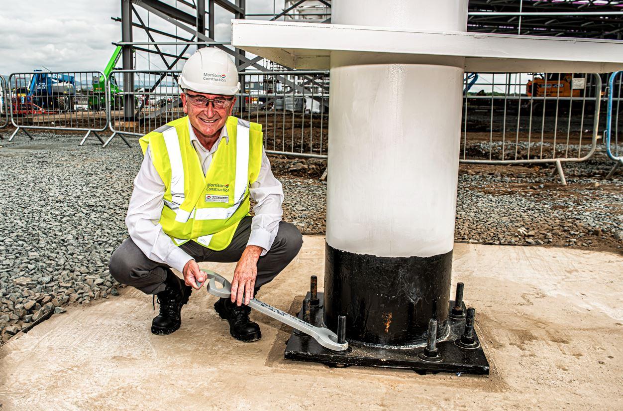 National Manufacturing Institute Scotland HQ reaches major construction milestone