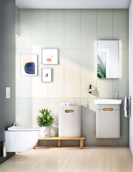 Matt Fjord Green and Matt Grey Added to Sento - VitrA's Scandi-Style Bathroom Range