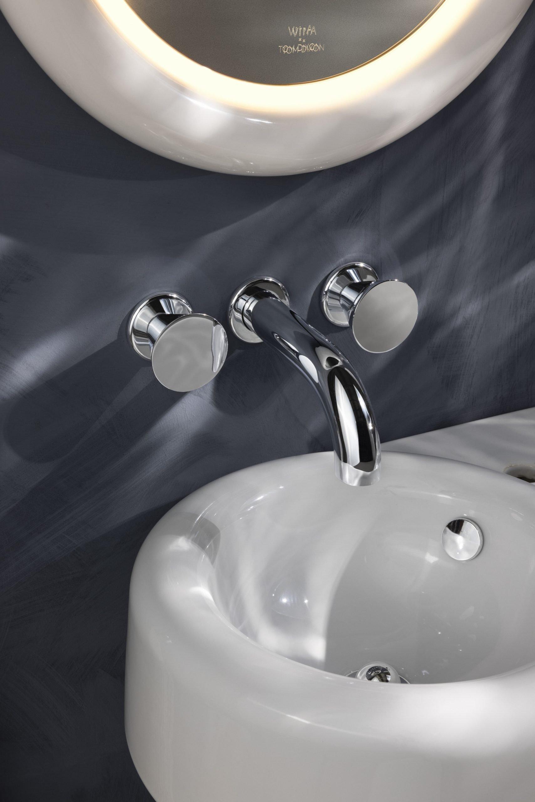 VitrA introduces Liquid, a new bathroom range in collaboration with Tom Dixon